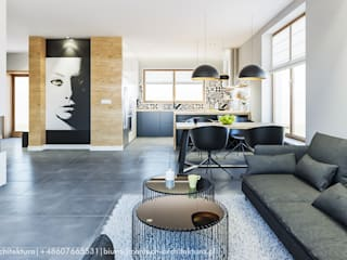 Living room by CONTECH Architektura,
