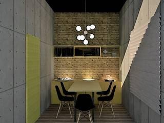 Escritório Advogados Espaços comerciais industriais por Falasca Settanni Arquitetura Engenharia Industrial