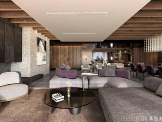 ห้องนั่งเล่น โดย Sulkin Askenazi, โมเดิร์น