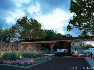 สวนหน้าบ้าน โดย Sulkin Askenazi, โมเดิร์น