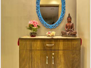 2BHK apartment in Pune : minimalist  by The D'zine Studio,Minimalist
