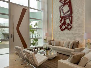 Casa Esplêndida Salas de estar modernas por Designer de Interiores e Paisagista Iara Kílaris Moderno
