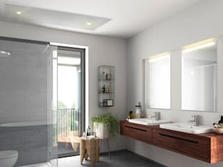 Modern bathroom by Heat Art - infrarood verwarming Modern