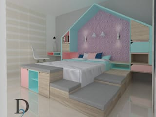Diseño interior y mobiliario casa familiar de D2 ARQUITECTURA Y MOBILIARIO Moderno