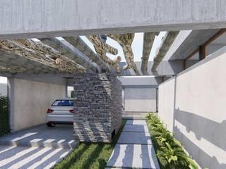 🔋🌱CASA BP 🌱🔋 Vivienda Sustentable: Casas de estilo  por ARBOL Arquitectos