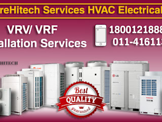 VRF / VRV AC Dealers in Delhi/NCR,India Oficinas y Comercios Azul