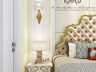 MASTER BEDROOM: classic  by KARU AN ARTIST,Classic