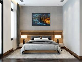 Biệt thự:  Phòng ngủ by Nội Thất My House