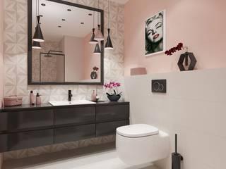 Phòng tắm phong cách hiện đại bởi Portal Domni.pl Hiện đại