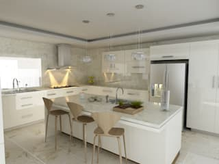 OLLIN ARQUITECTURA KitchenStorage MDF White