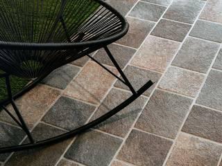 Plaza Yapı Malzemeleri – Sokak - Parke Taşları:  tarz Bahçe