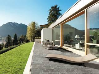 Sokak - Parke Taşları Modern Balkon, Veranda & Teras Plaza Yapı Malzemeleri Modern