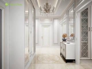 Classic corridor, hallway & stairs by ЕвроДом Classic