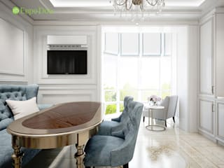 Classic style living room by ЕвроДом Classic