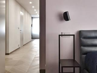 _LINEA_ Design e minimalismo nel quartiere di Castelletto, Genova di Giulia Grillo Architetto Moderno