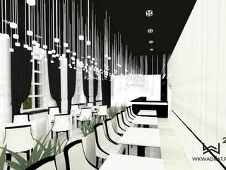 Restauracja hotelowa Wkwadrat Architekt Wnętrz Toruń Bary i kluby Kamień Biały