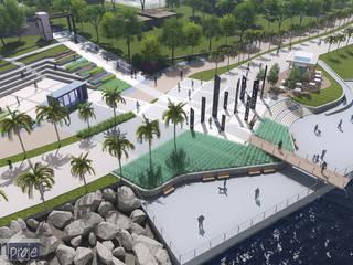 CSR Design - Alican Turgay Sezer – Büyükçekmece Sahilyolu Düzenleme Projesi:  tarz ,