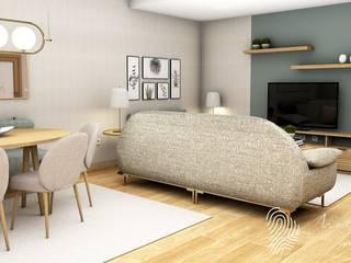 Sala de estar / Jantar por Marta Gonzaga, Interior Design