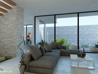 Casa Laguna Casas modernas de VILLA ARQUITECTO Moderno