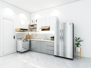 viku Kitchen units White
