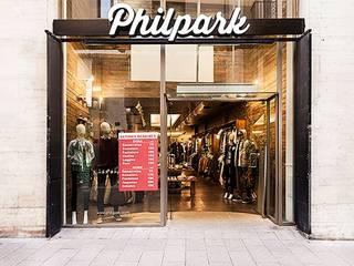 Industriale Geschäftsräume & Stores von Piedra Papel Tijera Interiorismo Industrial