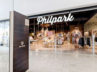 Industrial style offices & stores by Piedra Papel Tijera Interiorismo Industrial