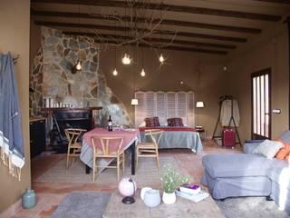 Rustieke wijnkelders van Piedra Papel Tijera Interiorismo Rustiek & Brocante
