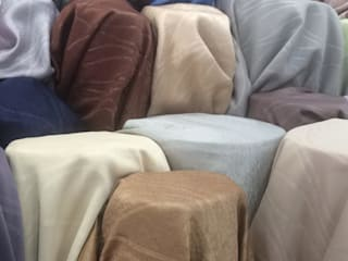 ผ้าม่านกันUV พื้นผิวมี Texture ทอลายในตัว เนื้อเงาและด้าน หน้ากว้าง 2.80 เมตร ดูมีมิติ:   by Fabric Plus Co Ltd