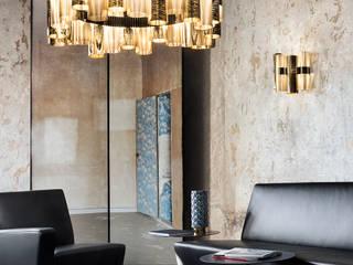 Z pasji do lamp: styl , w kategorii  zaprojektowany przez KOMA Oświetlenie