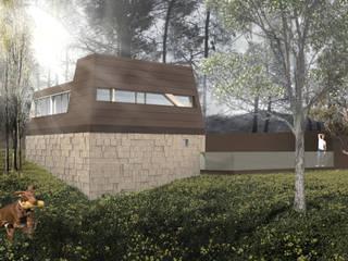Moradia Silvares Casas campestres por ARQ|EMA Campestre