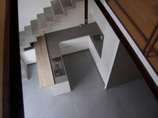L O F T Cucina minimalista di amoabitare | architettura Minimalista