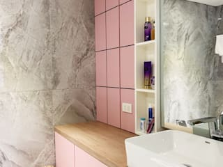 32.23 Residence Minimalist style bathroom by Pluszerotwo Design Studio Minimalist