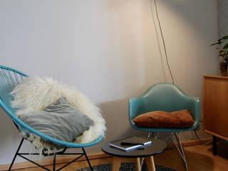 Wohn- und Essraum:  Wohnzimmer von studio kristin engel