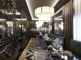 Пространство, где теряется счет времени: Ресторации в . Автор – Студия Luxury Antonovich Design,