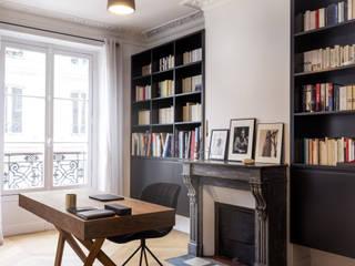 Créateurs d'Interieur의  서재 & 사무실, 북유럽