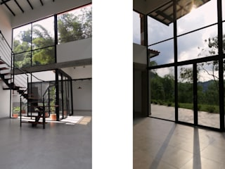Лестницы в . Автор – Arquitectura y Visualización, Модерн