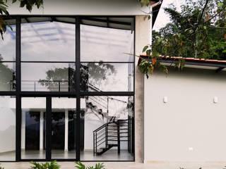 Дома в . Автор – Arquitectura y Visualización, Модерн
