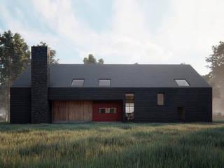Casa VL: Casas unifamiliares de estilo  por Estudio Sur Arquitectos