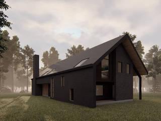Casa VL: Casas de madera de estilo  por Estudio Sur Arquitectos