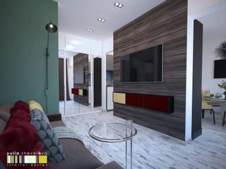 Living room by Мастерская интерьера Юлии Шевелевой, Eclectic