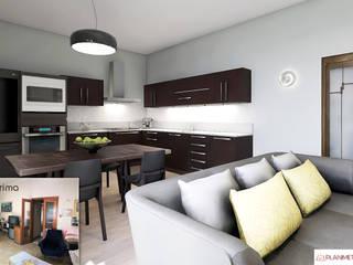 Moderne Wohnzimmer von Planimetrie Realistiche Modern