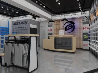 Diseño de Tienda Gzuck: Oficinas y Comercios de estilo  por AUTANA estudio, Moderno