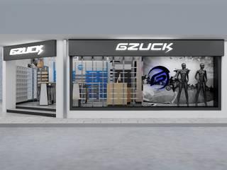 Diseño de Tienda Gzuck de AUTANA estudio Moderno
