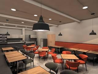 Propuesta para remodelación de Comedor Comedores de estilo industrial de AUTANA estudio Industrial