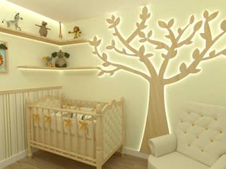 JR DECOR - Design de Interiores Baby room Orange