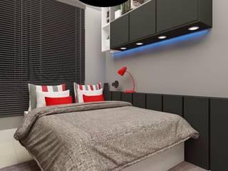 Cuartos de estilo moderno de CaPra Arquitetura e Interiores Moderno