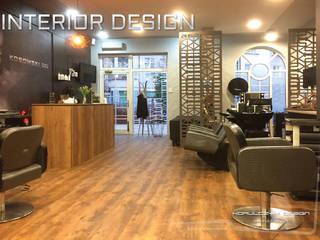 Projekt salonu stylizacji fryzur od Korulczyk Luxury Design Nowoczesny