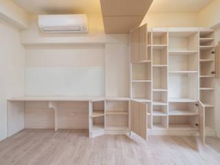 打造一整面書櫃牆 根據 藏私系統傢俱 北歐風