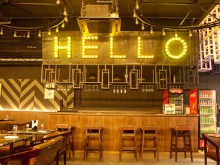 Twist Bar& Lounge: industrial  by Artifacto Ventures PVT ltd,Industrial