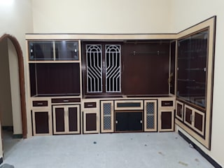 balabharathi pvc interior design Multimedia roomFurniture Plastic Wood effect